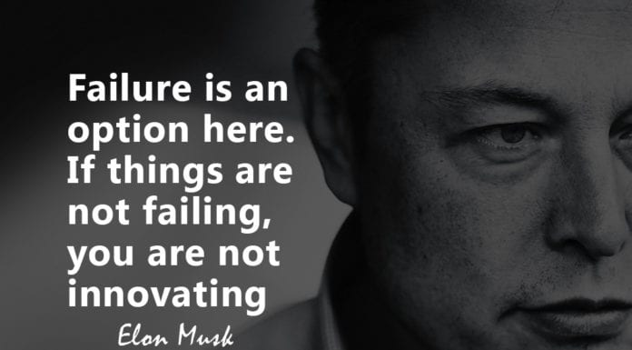 Elon Musk Quotes On Failure And Innovation