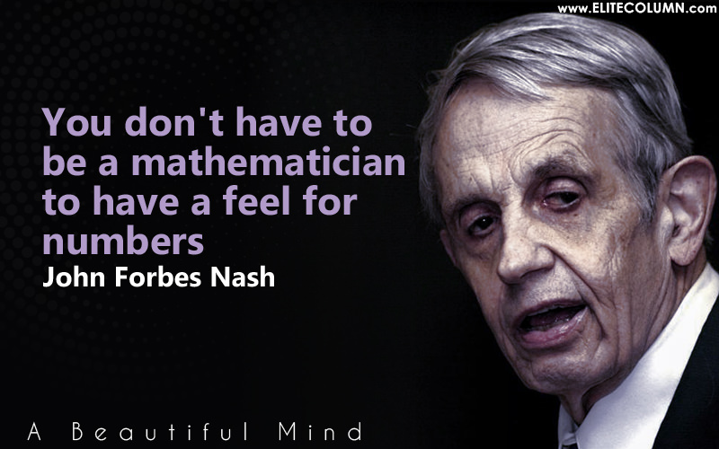 an introduction to the life of john forbes nash John nash, in full john forbes nash, jr, (born june 13, 1928, bluefield, west virginia, us—died may 23, 2015, near monroe township, new jersey), american mathematician who was awarded the 1994 nobel prize for economics for his landmark work, first begun in the 1950s, on the mathematics of game theory.