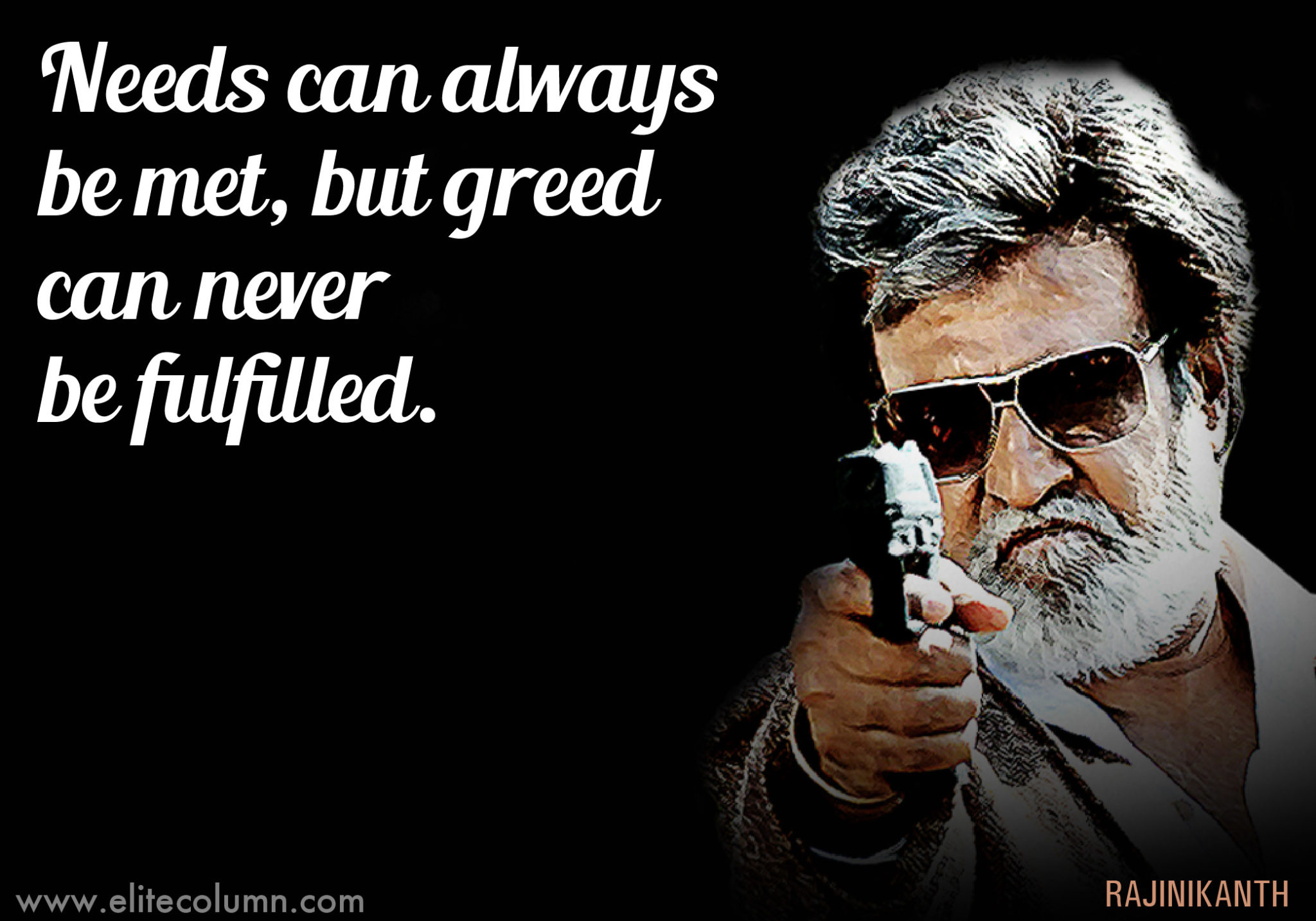 12 Incredible Superstar Rajinikanth Quotes