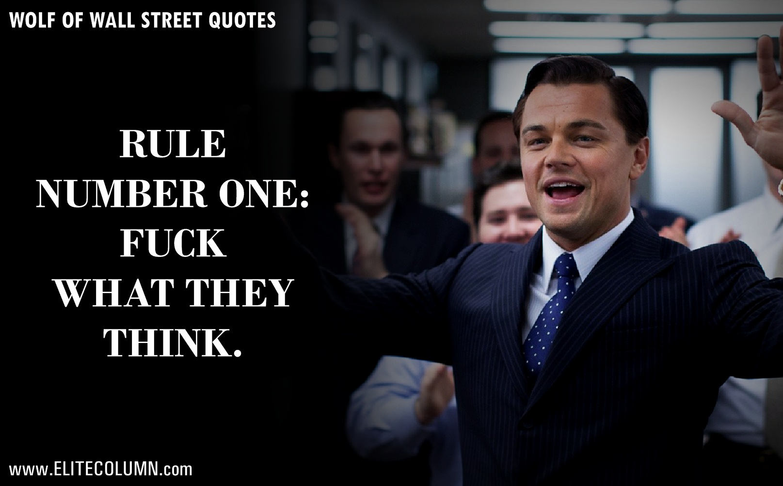 "Wall Street Quotes Captivating 12 Epic Leonardo Dicaprio Quotes From ""the Wolf Of Wall Street"