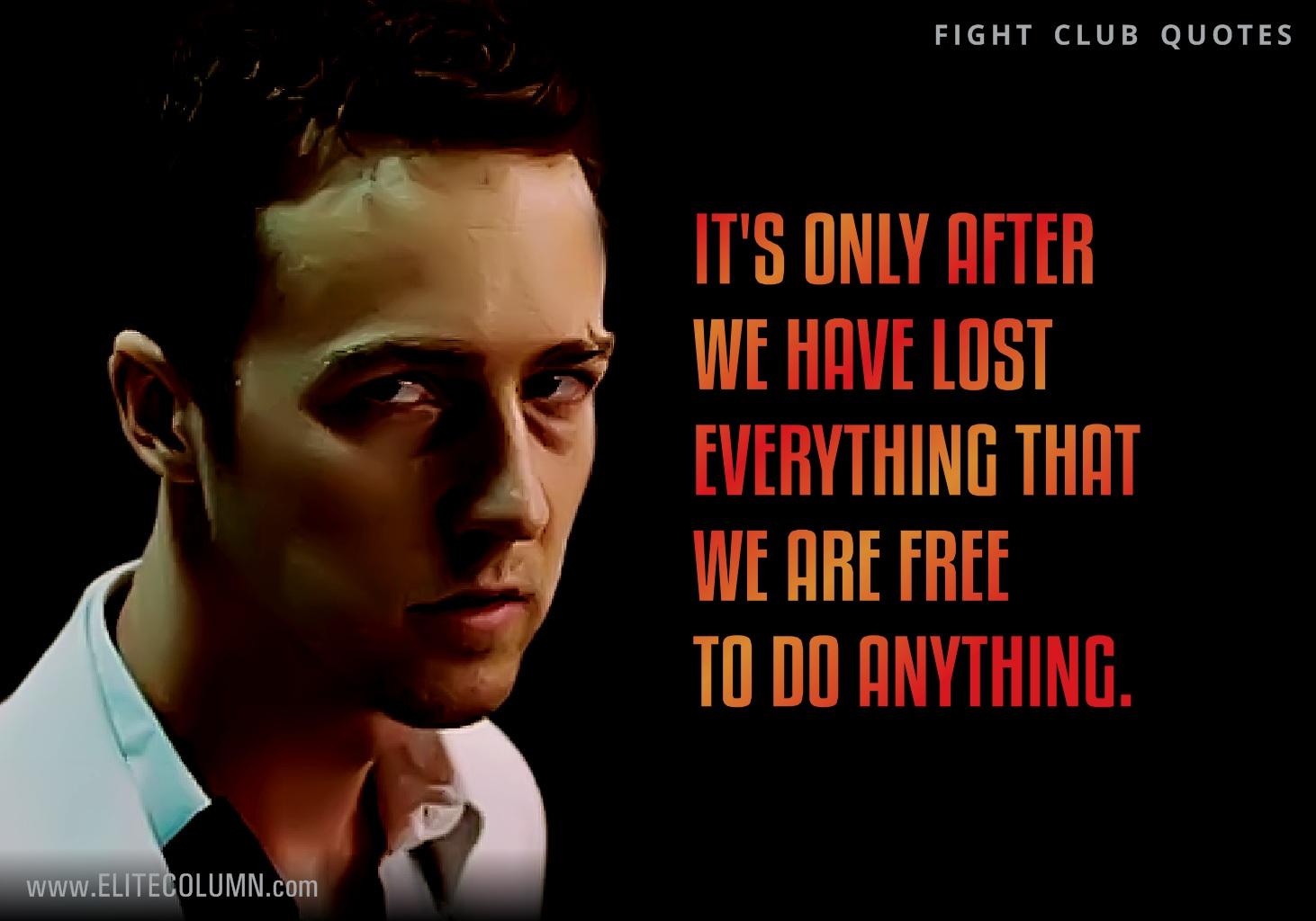 Fight Club Quotes 4 | EliteColumn