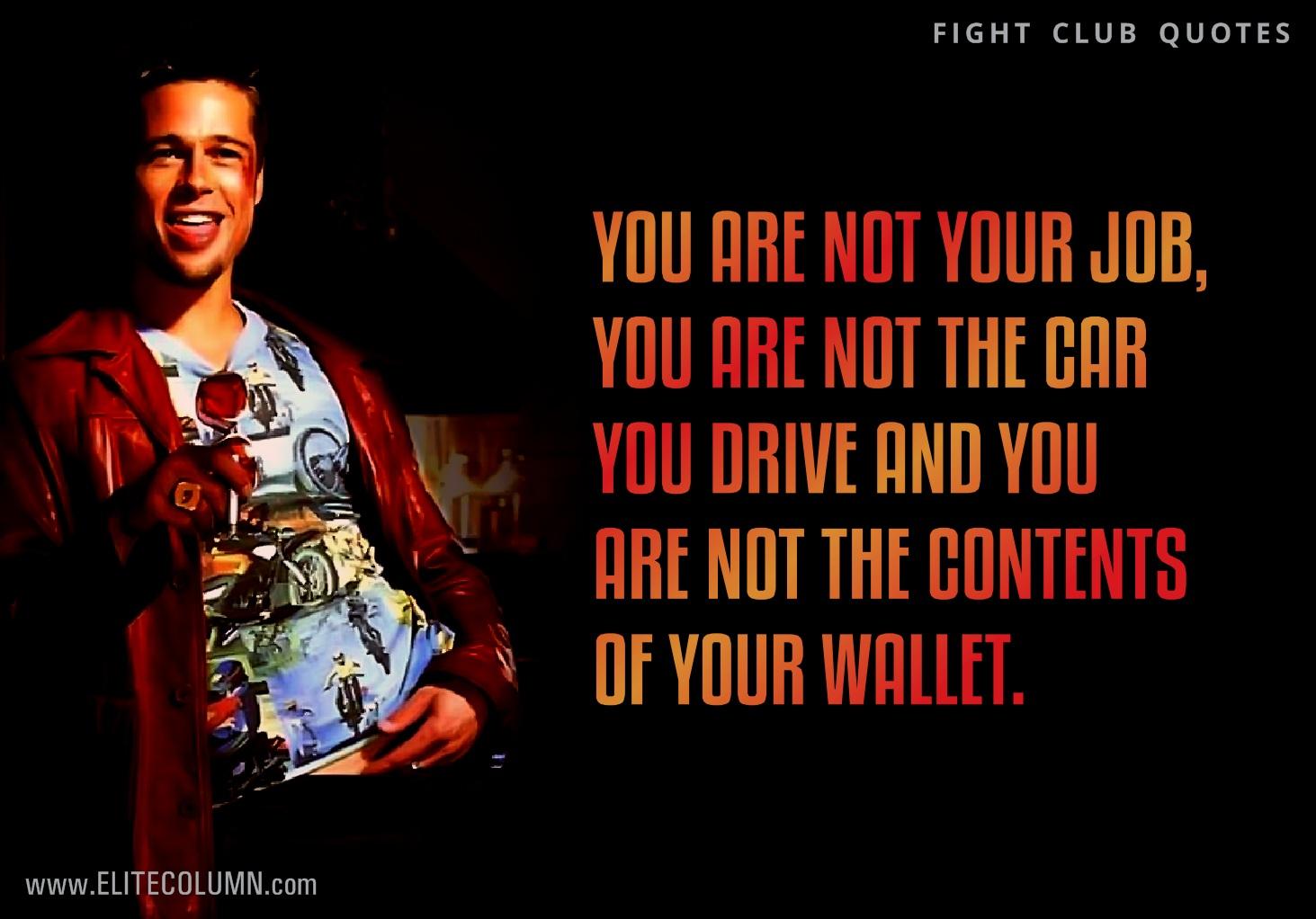 Fight Club Quotes 7 | EliteColumn