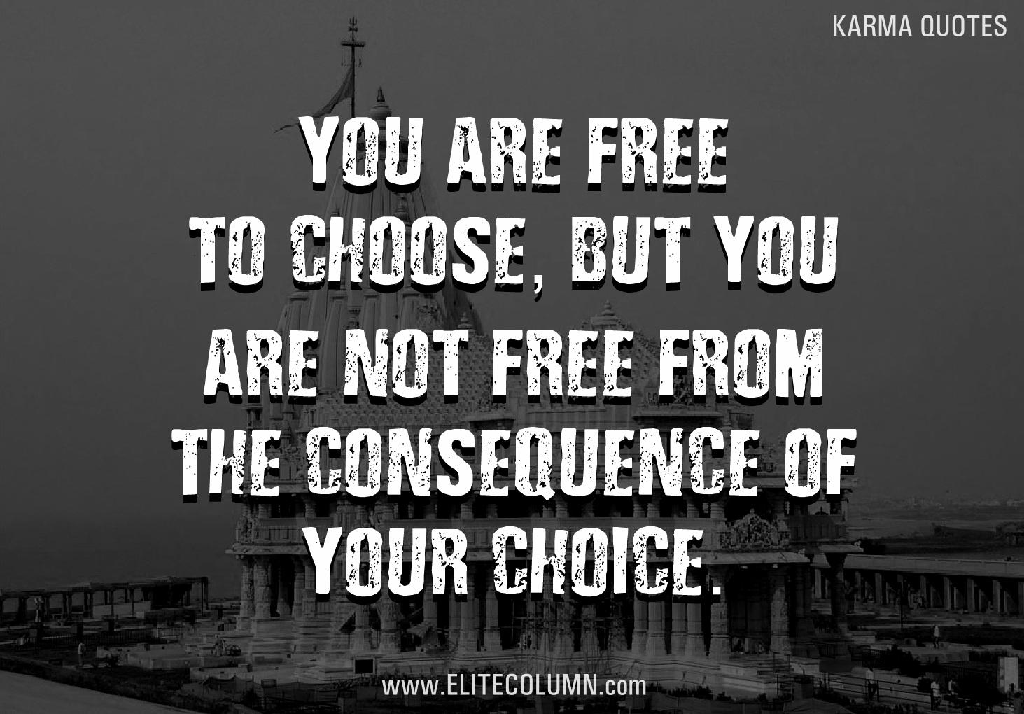 12 Karma Quotes So Relevant To 21st Century Life | EliteColumn