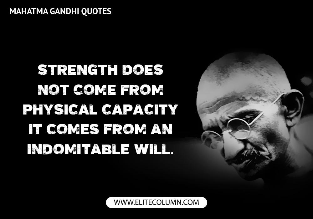 Mahatma Gandhi Quotes (12)