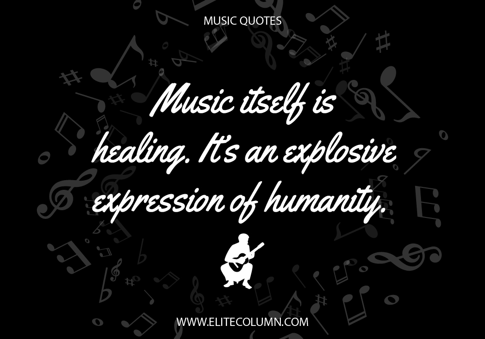 10 Powerful & Inspirational Music Quotes | EliteColumn Good Night Quotes For Her