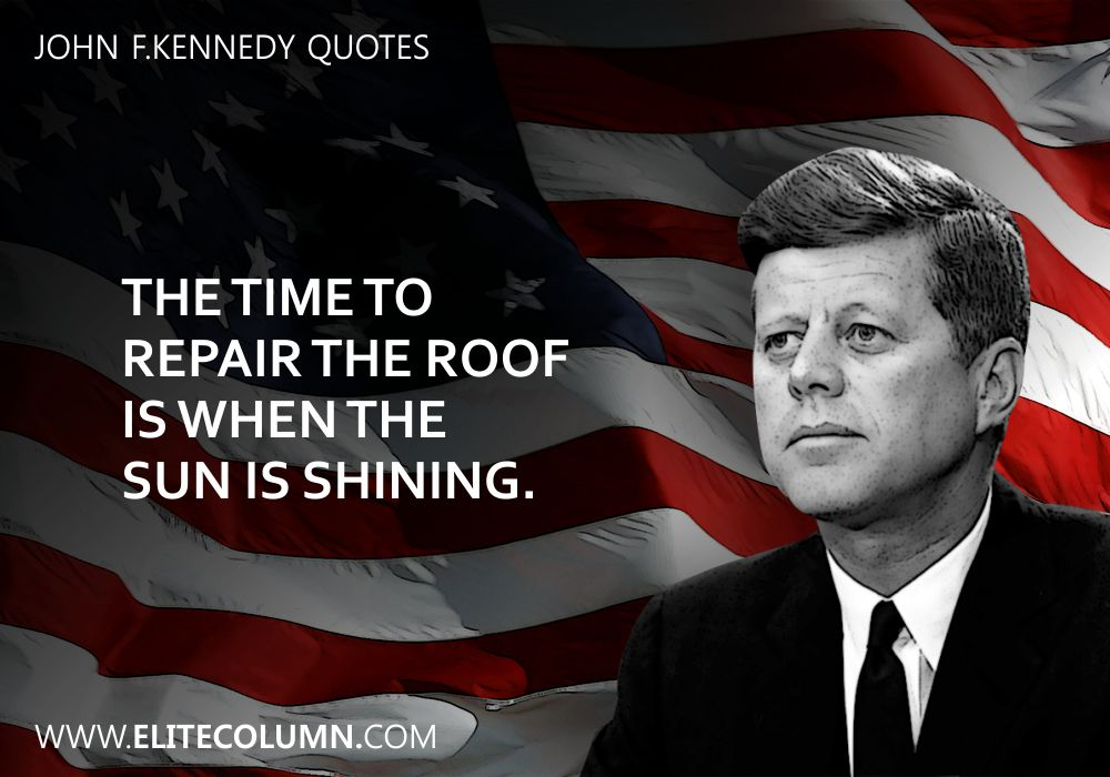 John F.Kennedy Quotes (5)