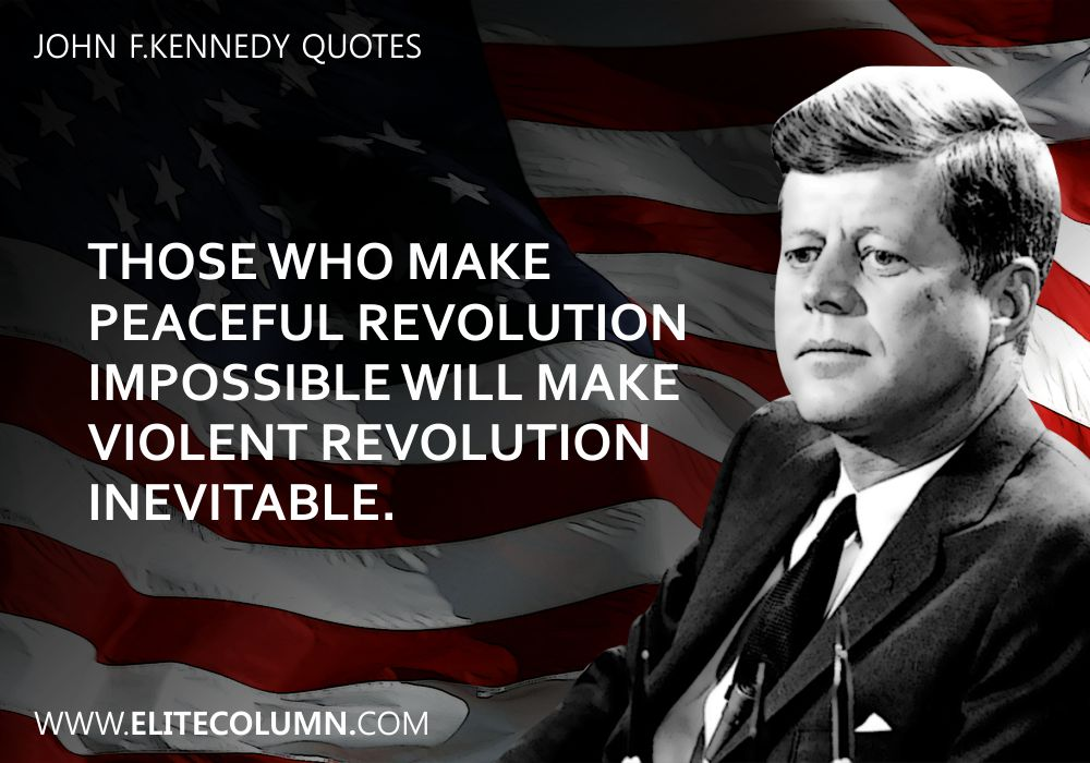 John F.Kennedy Quotes (8)
