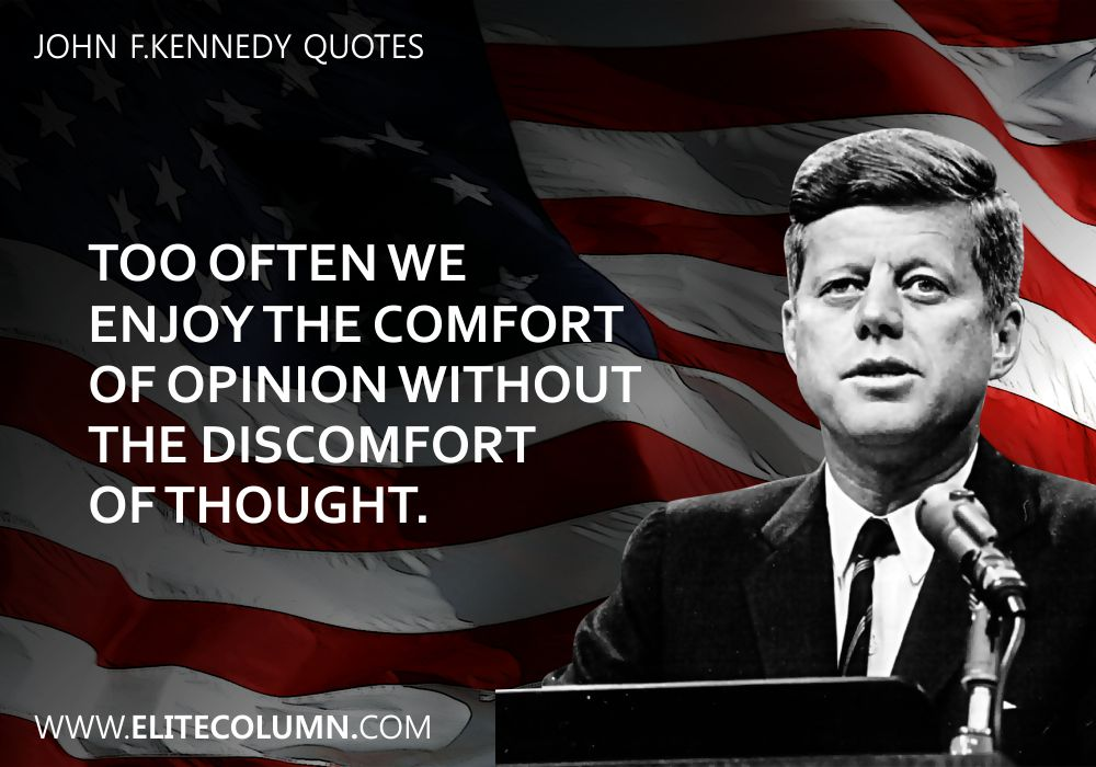 John F.Kennedy Quotes (9)