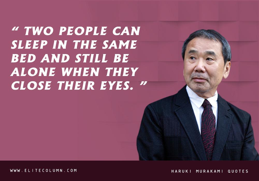 Haruki Murakami Quotes (10)