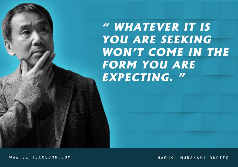 Haruki Murakami Quotes (4)