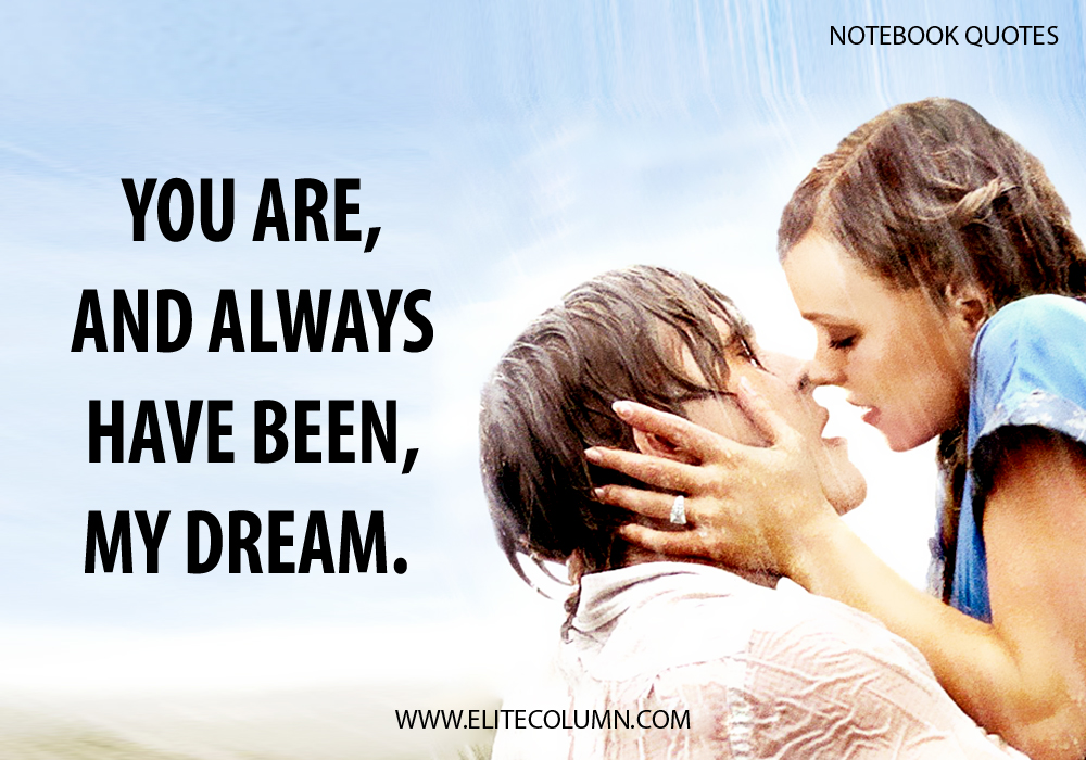 The Notebook Quotes (1)