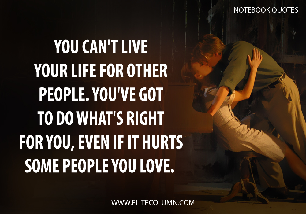 The Notebook Quotes (9)