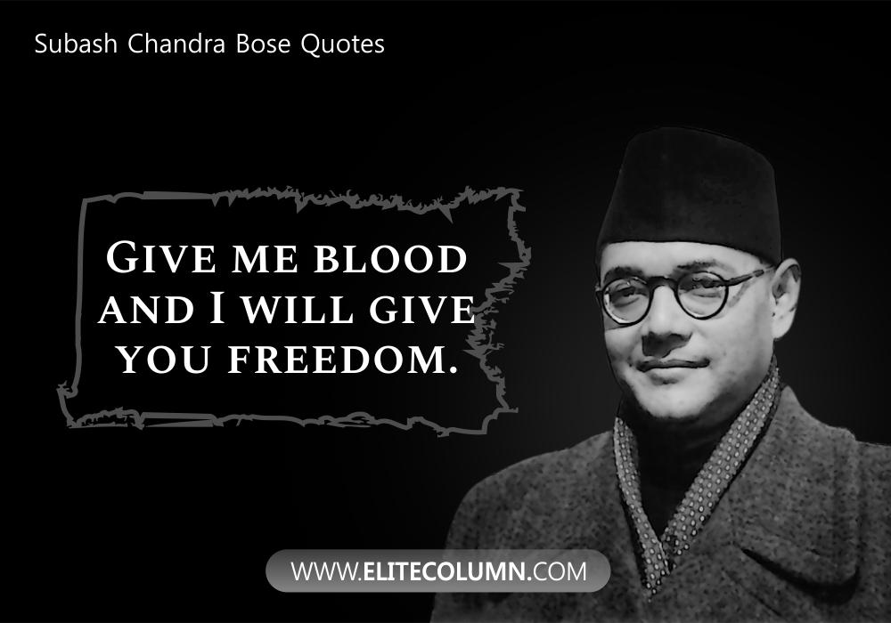 Subash Chandra Bose Quotes (1)