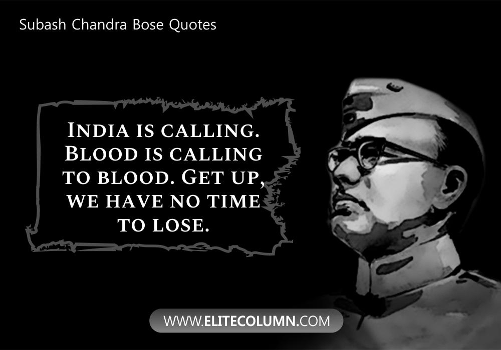 Subash Chandra Bose Quotes (6)
