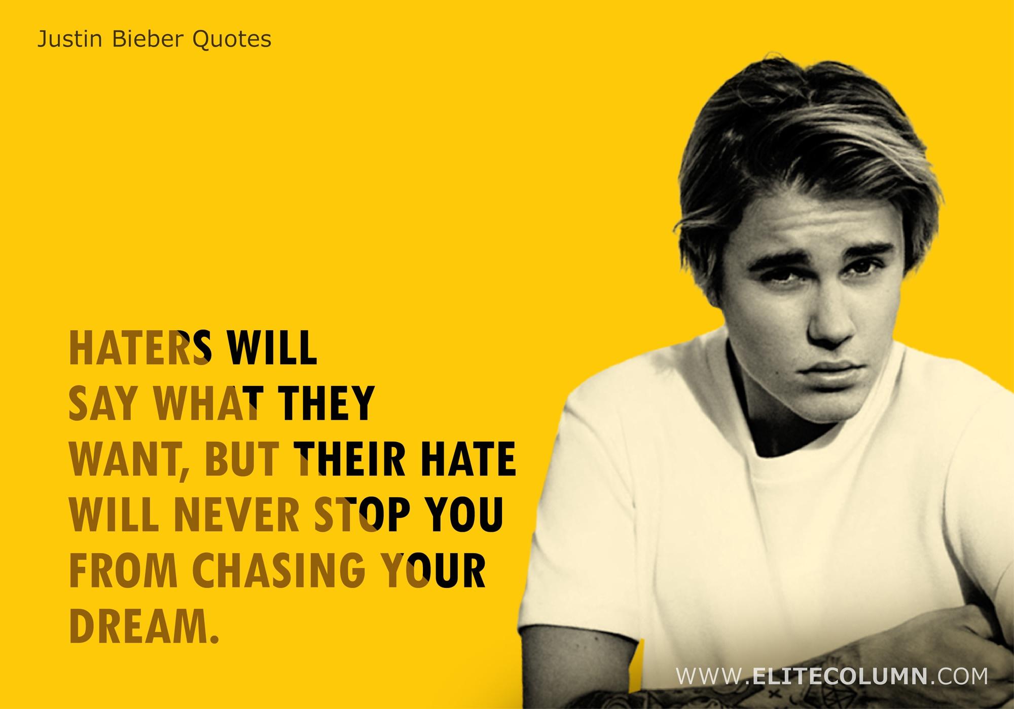 Justin Bieber Quotes (5)