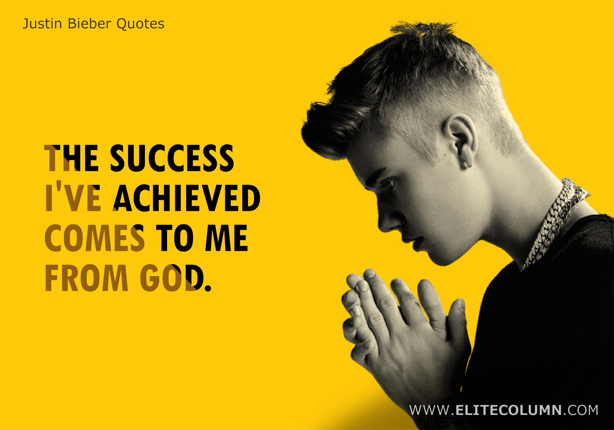 Justin Bieber Quotes (7)