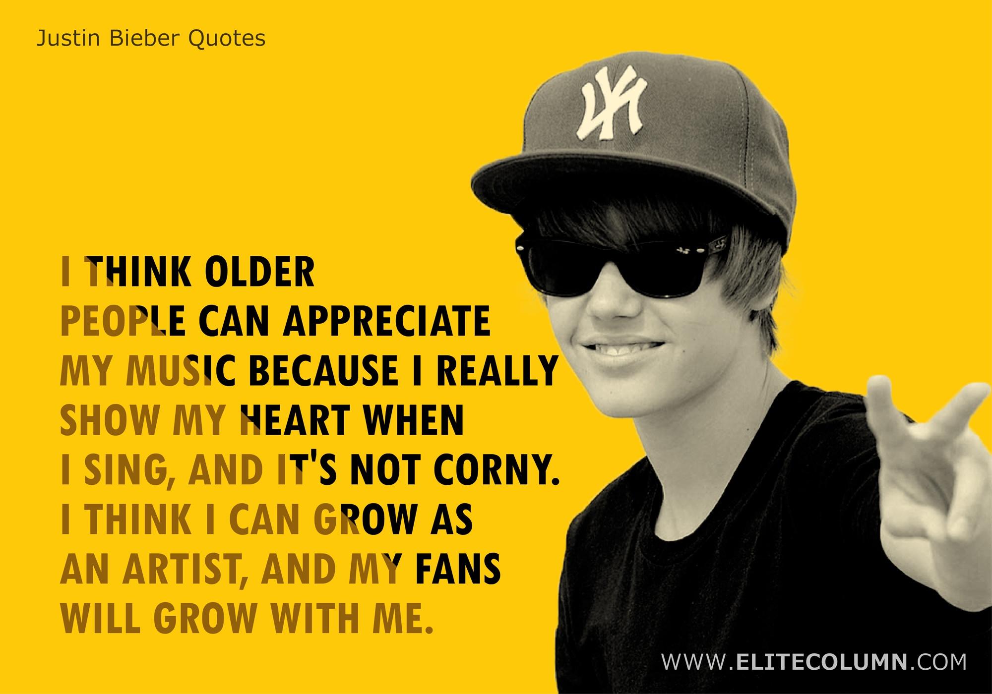 Justin Bieber Quotes (9)
