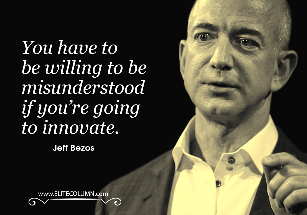 characteristics of business leadership jeff bezos Leadership development  leadership lessons from jeff bezos  in fact, bezos believes that when growing a business should start with the customer and work its.