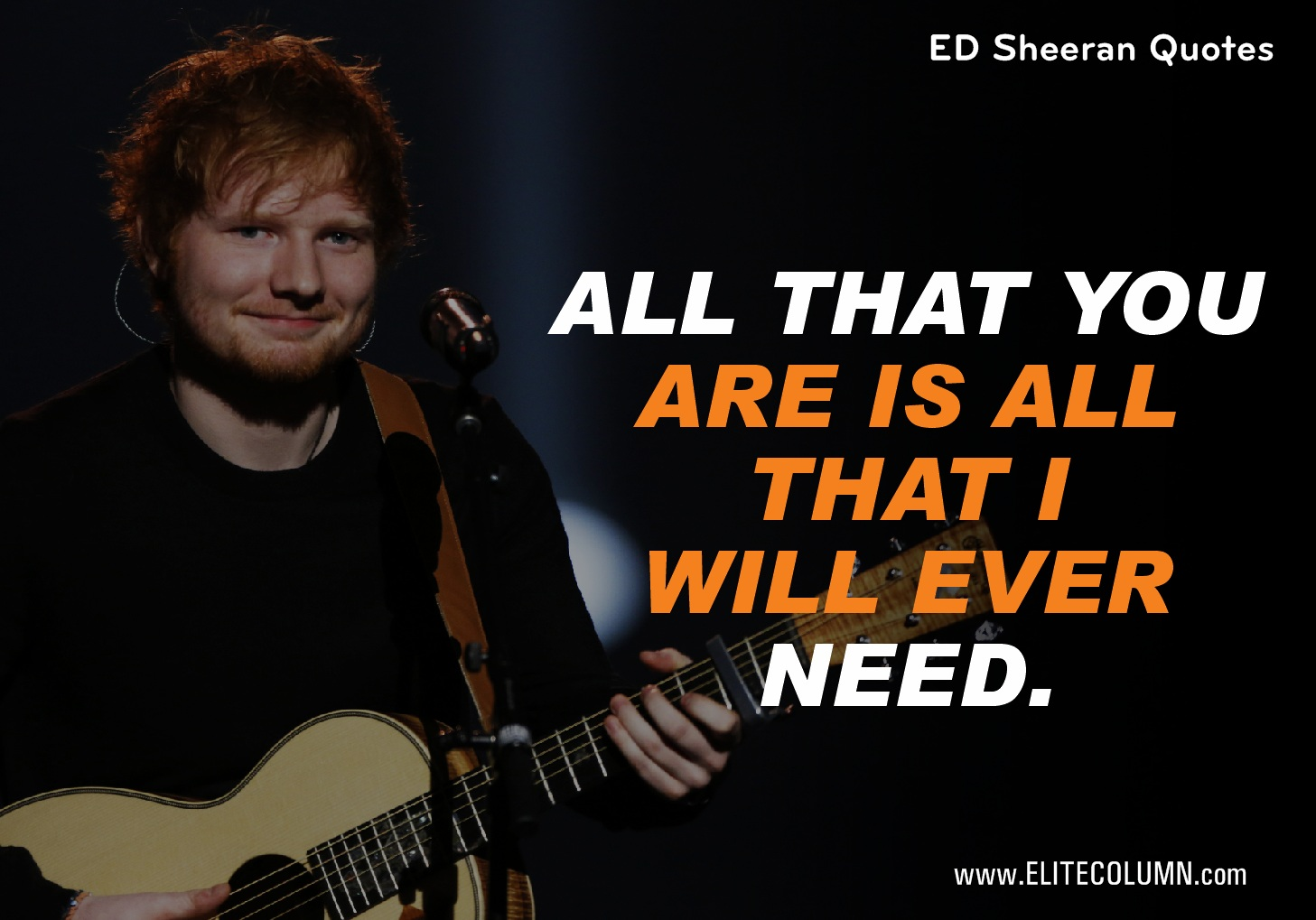 Ed Sheeran Quotes (8)