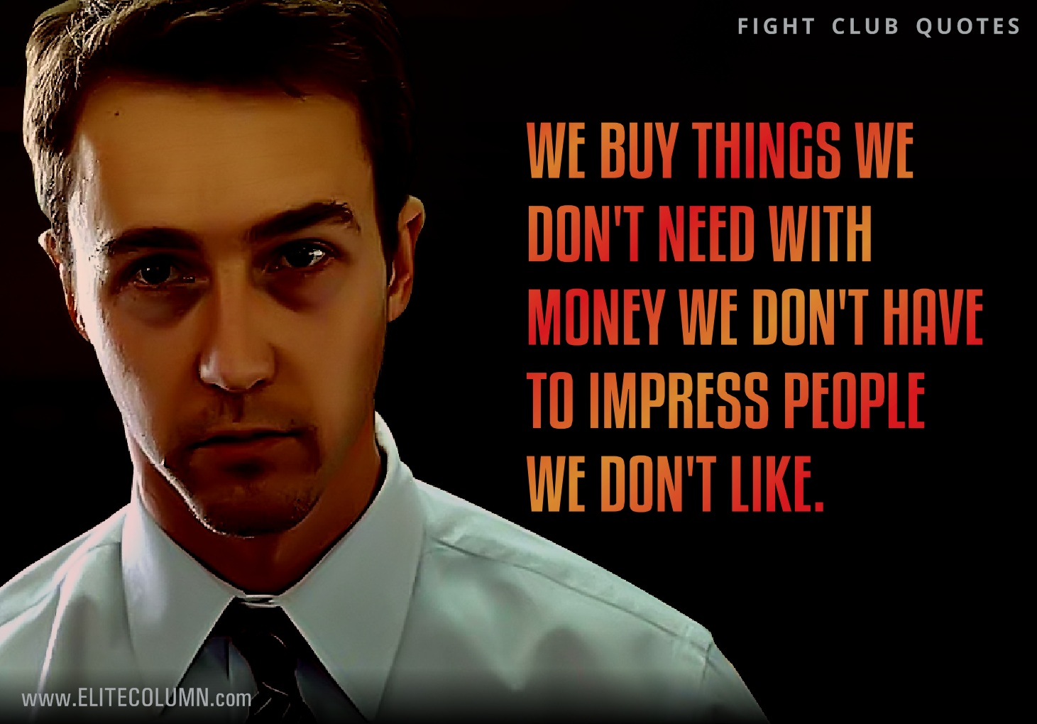 Fight Club Quotes 12 Best Fight Club Quotes To Give It Back To Your Enemies  Fight Club Quotes