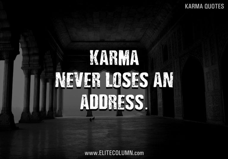 55 Karma Quotes That Will Enlighten Your Life