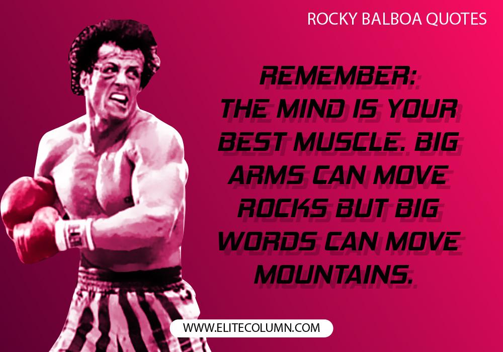 Rocky Balboa Quotes Rocky Balboa Quotes 10 | EliteColumn Rocky Balboa Quotes