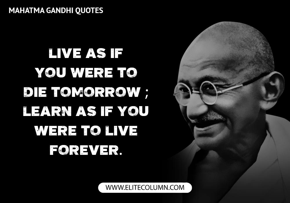 Mahatma Gandhi Quotes (2)