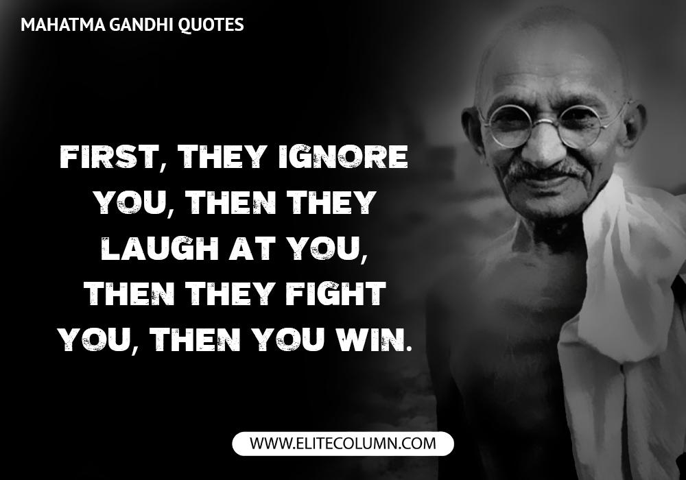 Mahatma Gandhi Quotes (6)