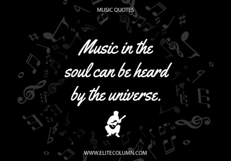 66 Music Quotes That Will Heal Your Soul