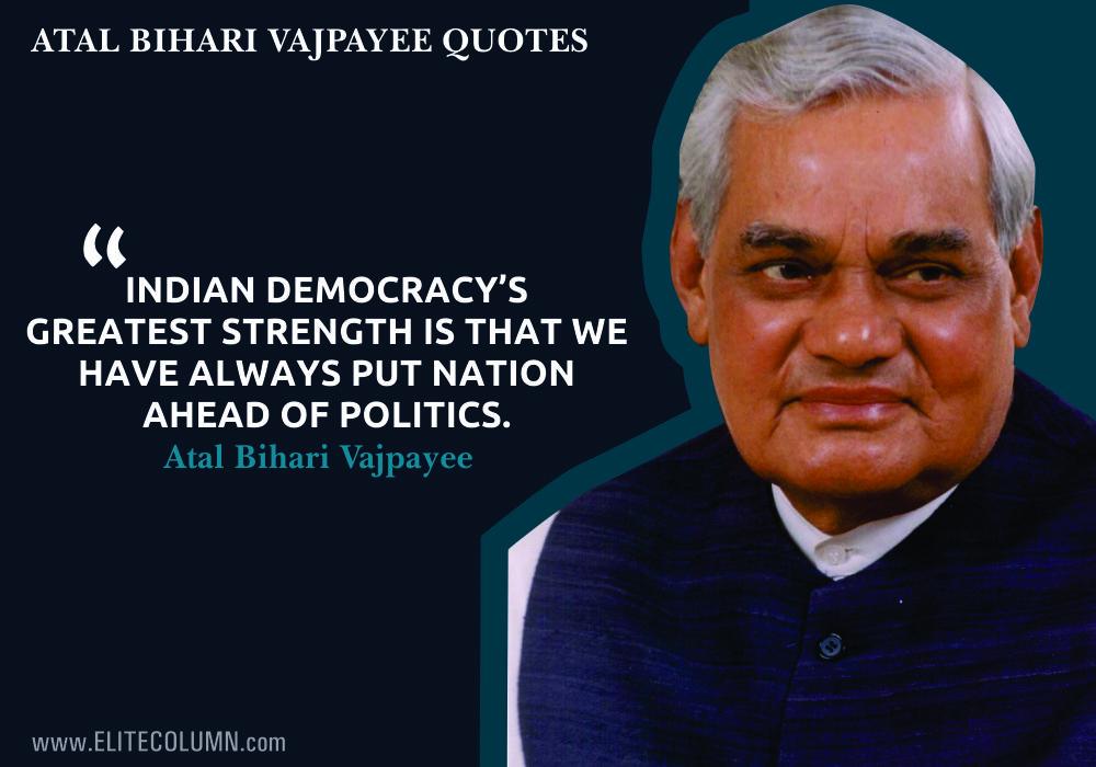 Atal bihari Vajpayee Quotes (9)