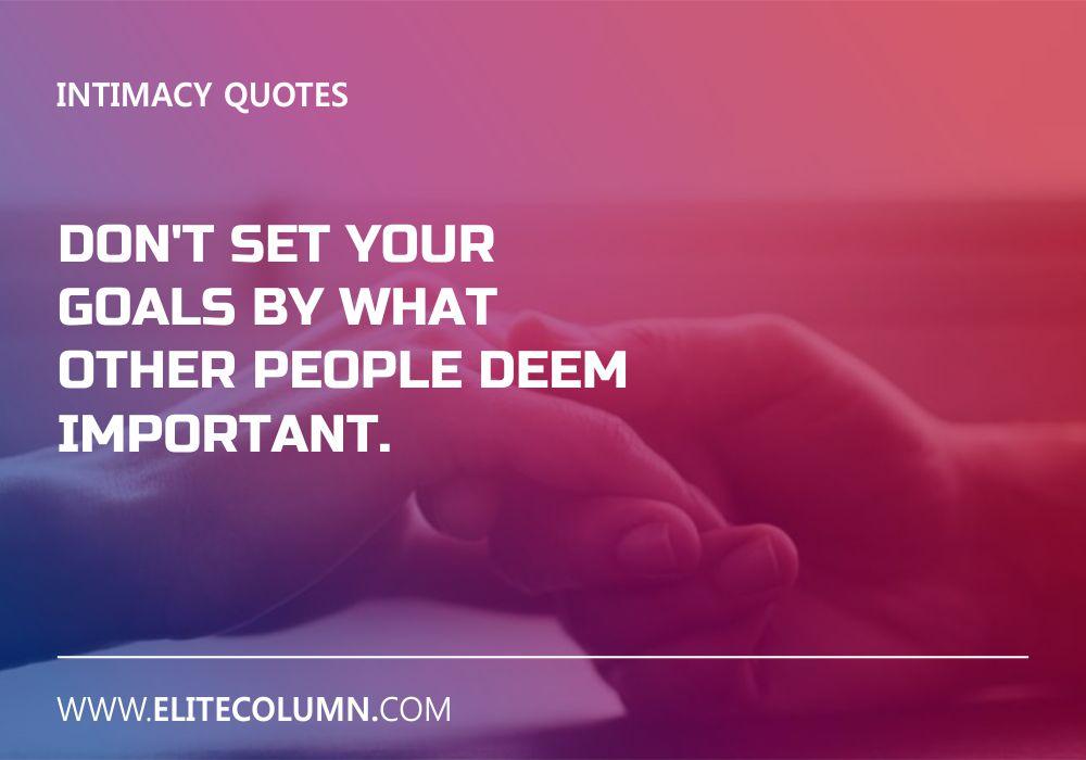 Intimacy Quotes (10)