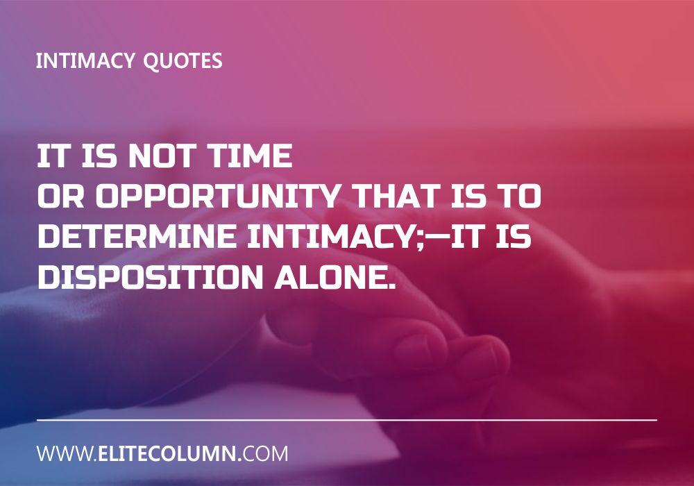 Intimacy Quotes (2)