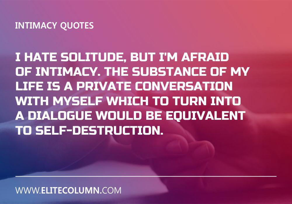 Intimacy Quotes (7)