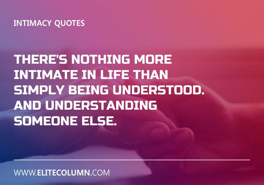 Intimacy Quotes (9)