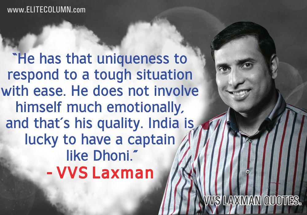 VVS Laxman Quotes (2)