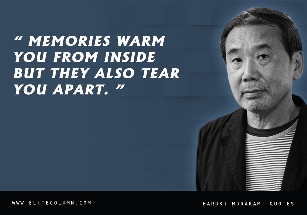 Haruki Murakami Quotes (1)