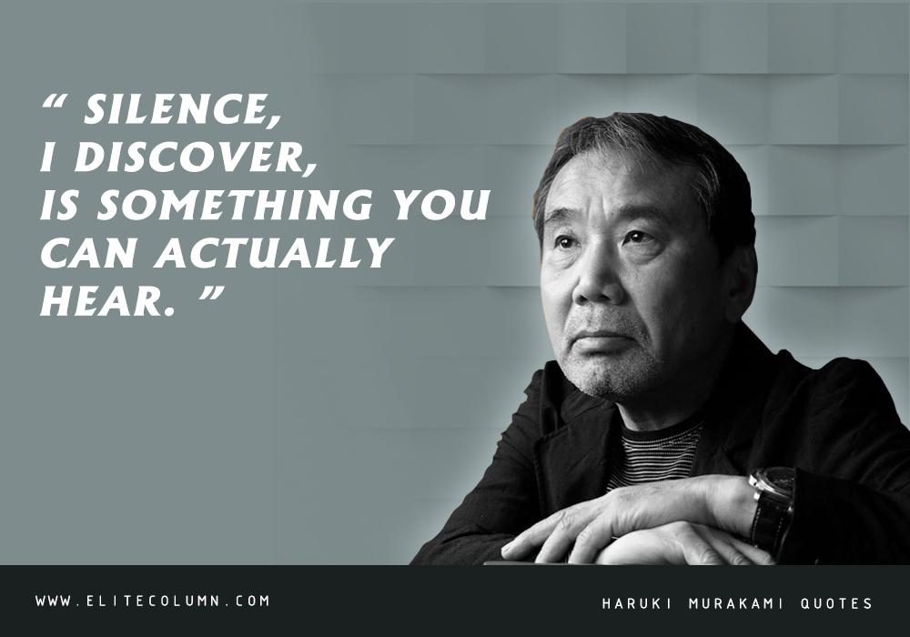 Haruki Murakami Quotes (2)