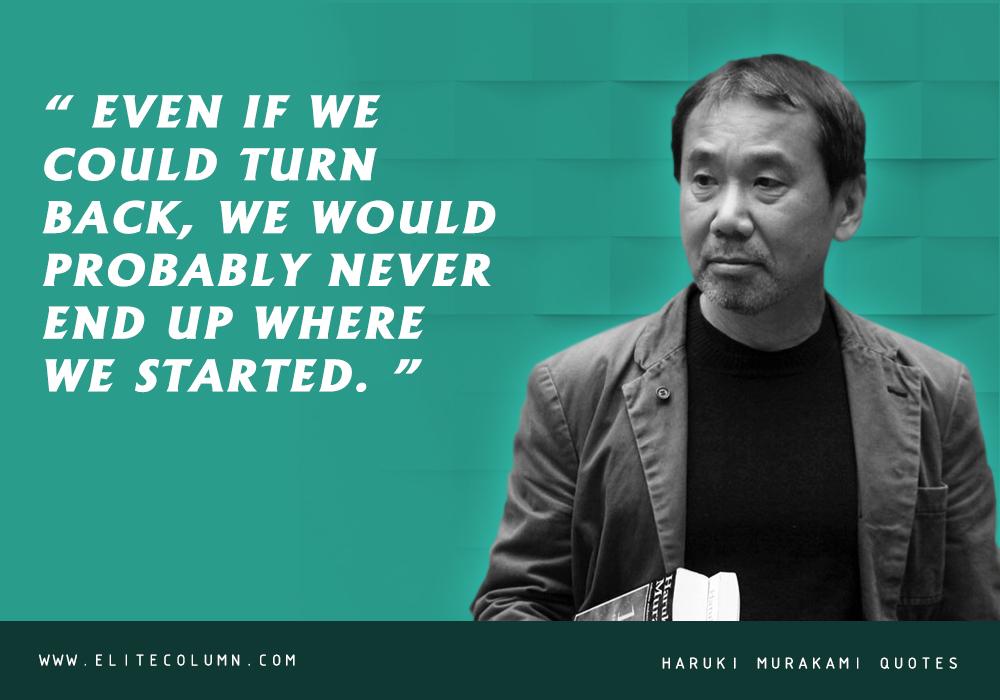 Haruki Murakami Quotes (3)