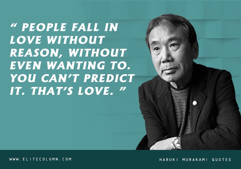 Haruki Murakami Quotes (5)