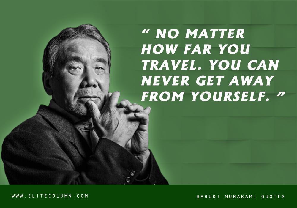 Haruki Murakami Quotes (6)