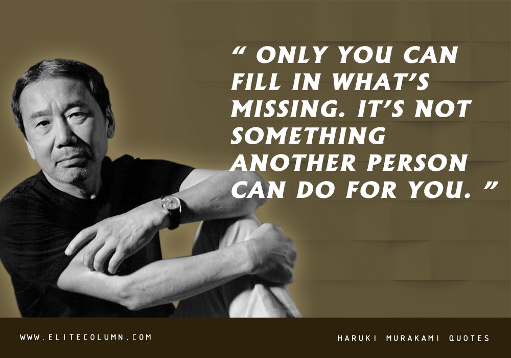 Haruki Murakami Quotes (7)