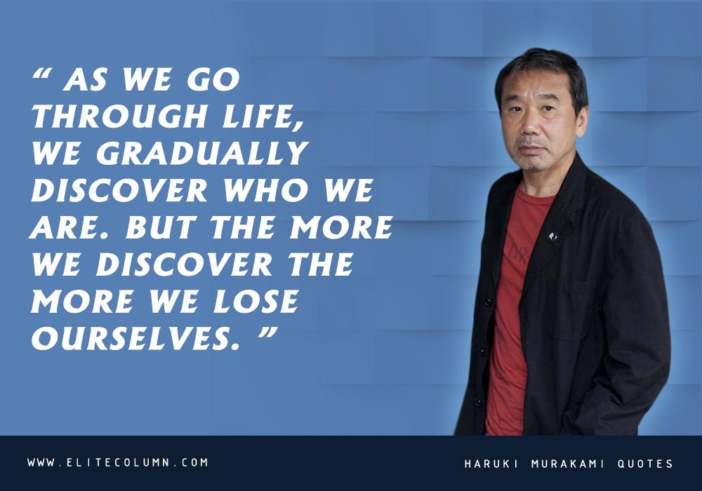 Haruki Murakami Quotes (9)