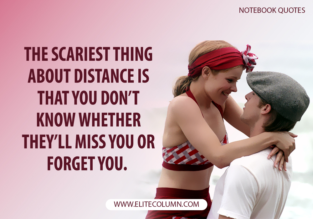 The Notebook Quotes (12)