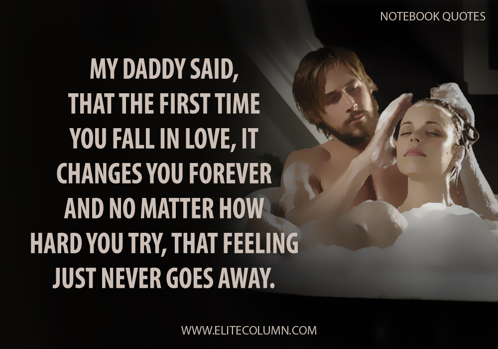 The Notebook Quotes (3)