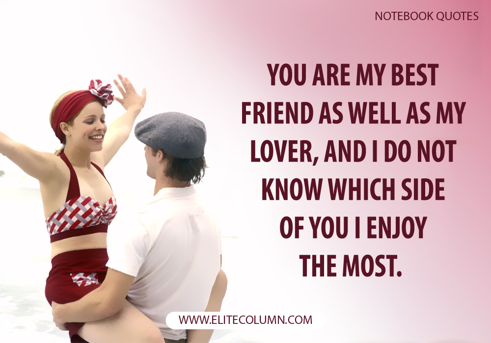 The Notebook Quotes (4)