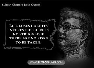 Subash Chandra Bose Quotes (4)