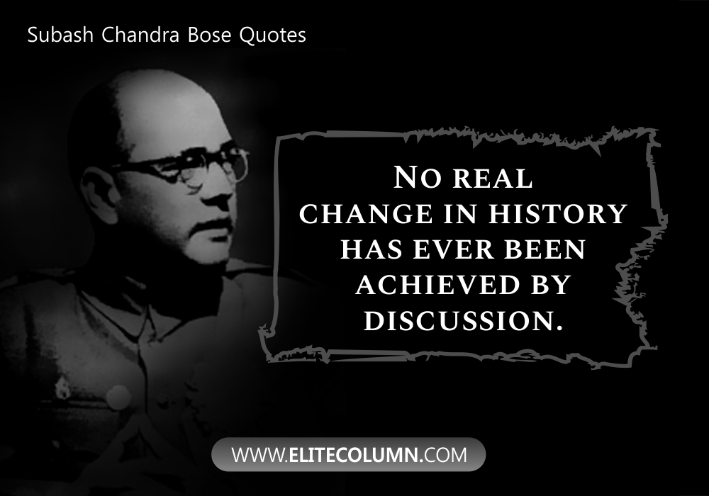 Subash Chandra Bose Quotes (9)