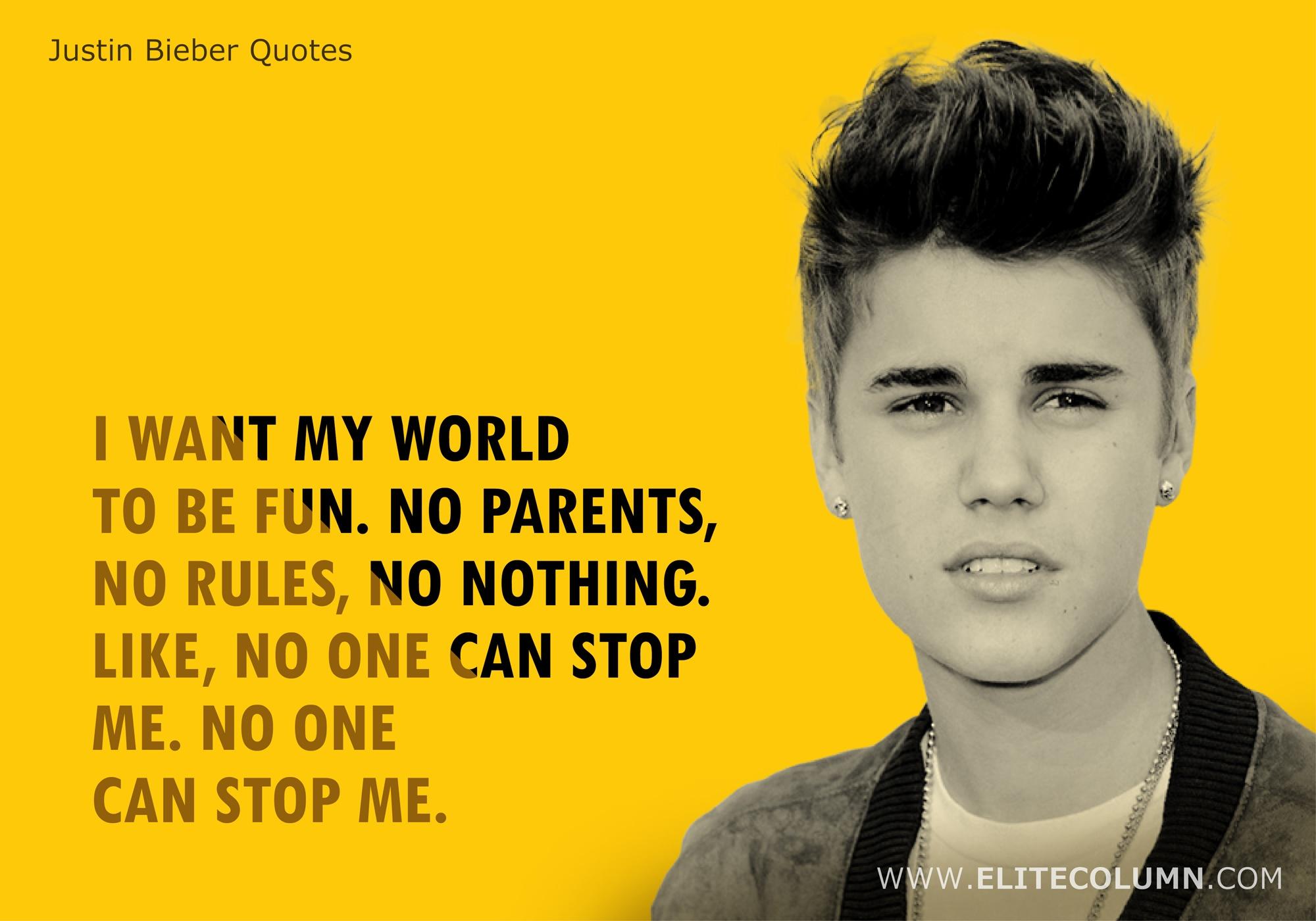 Justin Bieber Quotes (4)