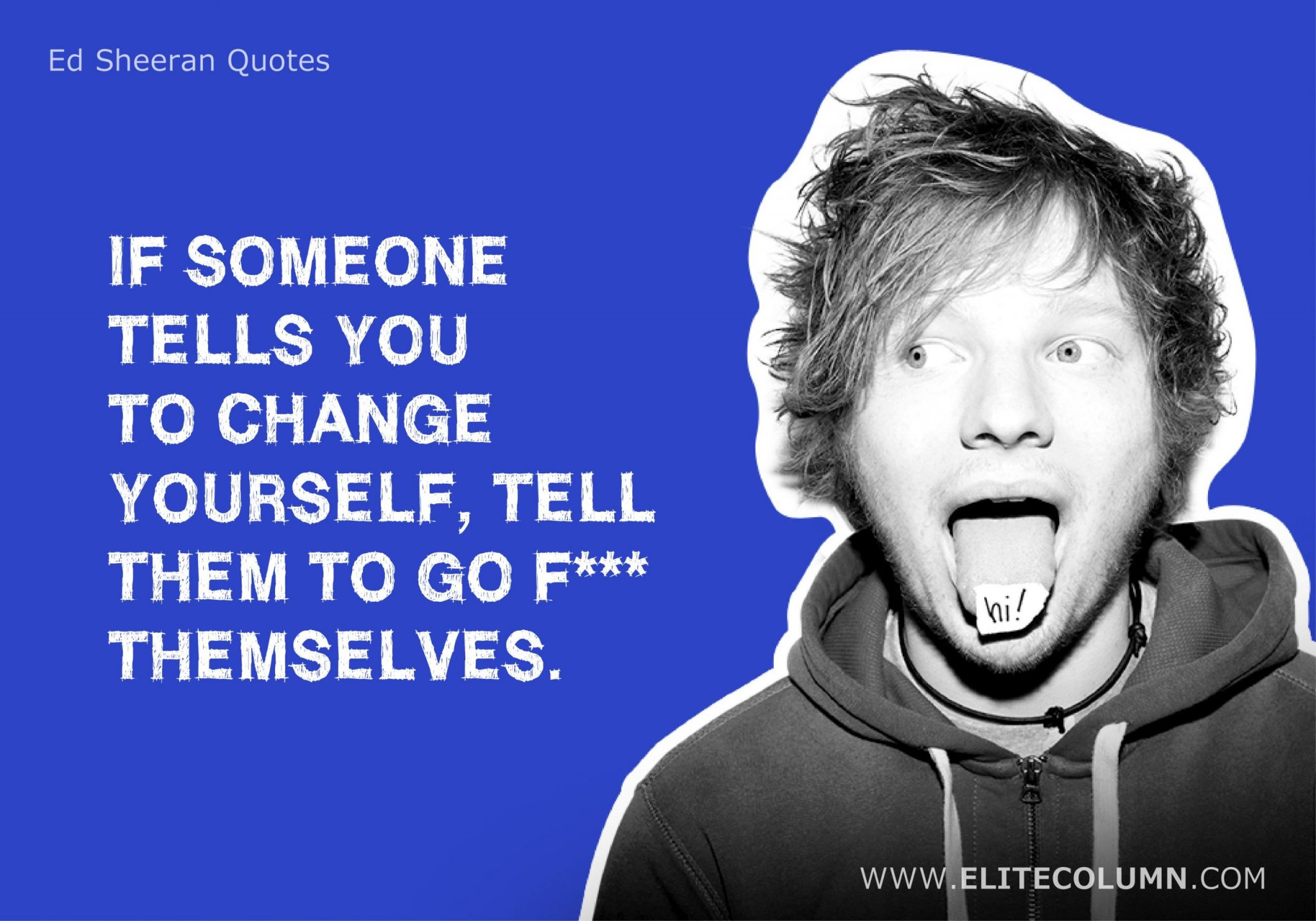 Ed Sheeran Quotes (12)