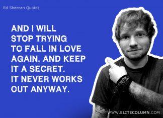 Ed Sheeran Quotes (19)